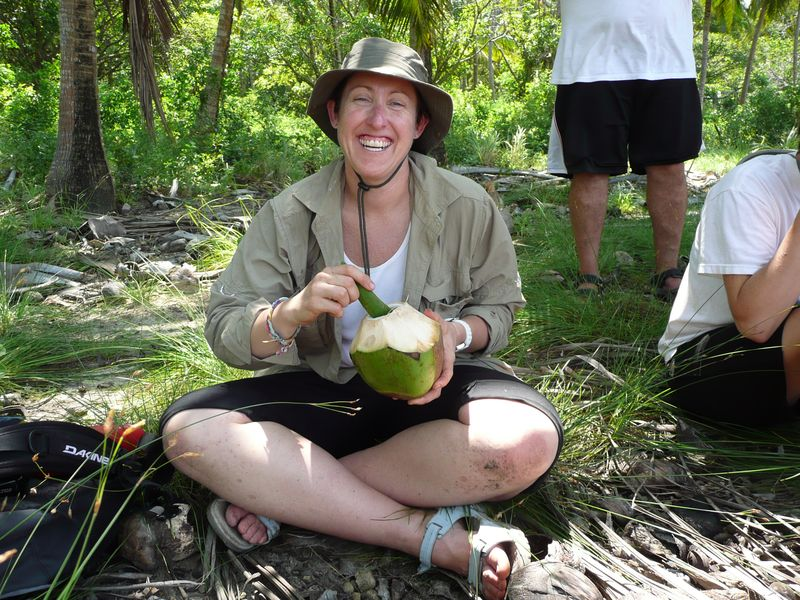 Lisa_takes_a_coconut_break