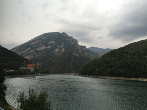 View from Bus