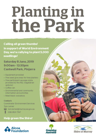Planting in the Park_Flyer